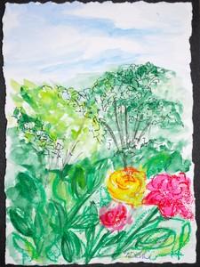 Art for Sale - Flowering-Landscape