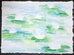 Art for Sale - Water Lilies IV