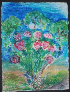 Art for Sale - Garden Roses VII