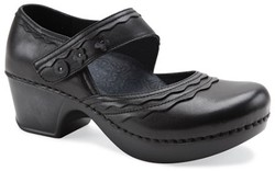 Bargain Bin - Buy Shoes Online - Harlow - Black Burnished Full Grain [click to enlarge]