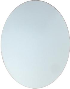 Glass, Convex Glass & Acrylic - Oval Frame Back