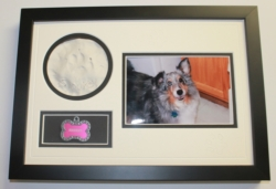 Smokey's Bear Hug Paw Print Frames - My Pet 'Paw Print' Picture Frame - 8 1/2 x 12 1/2 inches