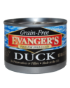 Allergy/Grain Free - Evanger's Grain Free Duck Dog 6 oz.