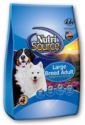 Normal Adult Dry Dog Food - Nutrisource Large Breed Chicken and Rice, Dog, #33