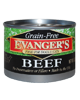 Allergy/Grain Free - Evanger's Grain Free Beef Dog 6 oz.