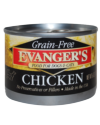 Allergy/Grain Free - Evanger's Grain Free Chicken Dog 6 oz.