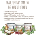 Raw/Dehydrated - The Honest Kitchen 3 oz cups-Force, Love, Embark