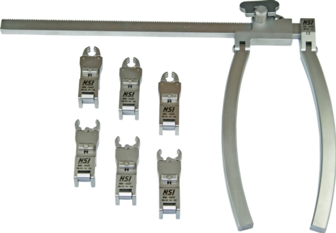 Lumbar Retractor Systems - Clear-Line™ LS Frame Upgrade Set [click to enlarge]