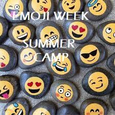 New Event - Summer Camp - Emoji Week
