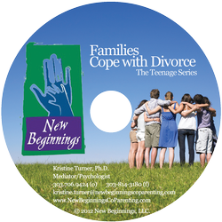 Products for Divorced Parents - Divorced Parent Help - Families Cope with Divorce the Teenage Series [click to enlarge]