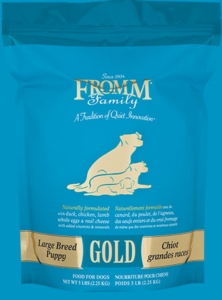 Puppy Food - Fromm Large Breed Gold Puppy #33 [click to enlarge]