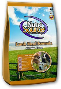 Digestive Issues - Nutrisource Grain Free Lamb, Dog, #30-Buy 12 Get 1 Free