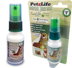 Supplements - PetzLife Oral Care Peppermint Spray, 1oz