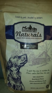 Dog Treats - Country Vet Naturals Quick Bite Cookies 2 pounds- Grain Free Bacon and Blueberry [click to enlarge]