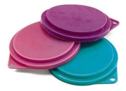 Normal Adult Dry Dog Food - Plastic Lids for Dog Cans [click to enlarge]