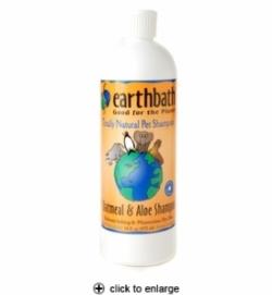 Shampoo - Earthbath Oatmeal and Aloe Shampoo for Dry Skin Dogs 16 oz. [click to enlarge]
