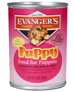 Puppy Food - Evangers Puppy Classic 13oz. [click to enlarge]