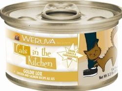 Canned Cat Food - Wrueva Goldie Lox canned cat-3.2 ounce [click to enlarge]