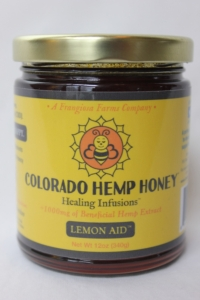 Joint Health - Local Raw Hemp Honey-sticks and 12 oz. jar [click to enlarge]