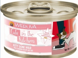 Canned Cat Food - Wreuva Kitty Gone Wild cat food-3.2 ounces [click to enlarge]