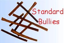 Dog Chews - Bully Sticks for Dogs Standard width 6 inch long, 12 inch long