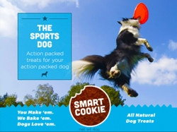 Dog Treats - Smart Cookie The Sports Dog-Endurance-made in Denver-9oz [click to enlarge]