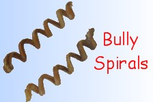 Dog Chews - Bully Sticks for Dogs Spiral
