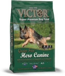 Joint Health - Victor Grain Free Hero Dog Food -30 pounds [click to enlarge]