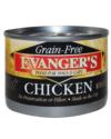 Canned Dog Food - Evanger's Grain Free Chicken Dog 6 oz.