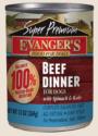 Canned Dog Food - Evanger's Super Premium Beef Dinner Dog 13 oz.
