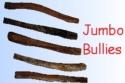 Dog Chews - Bully Sticks for Dogs Jumbo 6 inch long, 12 inch long
