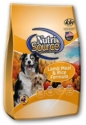 Normal Adult Dry Dog Food - Nutrisource Adult Lamb and Rice 18 or 33 pounds