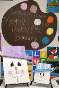 New Event - Mommy/Daddy & Me Bunny Wood Workshop