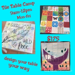 New Event - Tile Table Camp