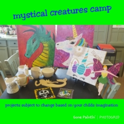 New Event - Summer Camp - Mystical Creatures