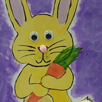 New Event - Canvas Bunny Paint a long