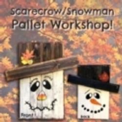 New Event - Scarecrow/Snowman Wood Pallet