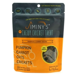 Jiminy's Original Cricket Cookie - Jiminy's Pumpkin & Carrot Recipe (6 Oz) Soft & Chewy, Training Treats [click to enlarge]