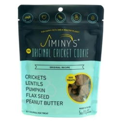 Jiminy's Original Cricket Cookie - Jiminy Original Recipe Cricket Dog Treat-5 oz. [click to enlarge]