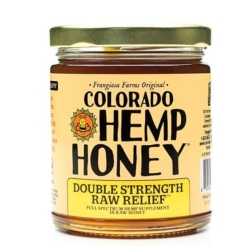 Buy Colorado Hemp Honey - Double Strength Raw Relief 12 ounces [click to enlarge]