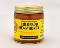 Buy Colorado Hemp Honey - Colorado Hemp Honey - Lemon Stress Less-12 ounces [click to enlarge]