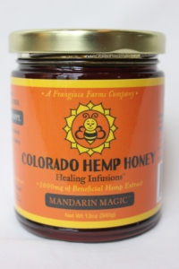 Buy Colorado Hemp Honey - Tangerine Tranquility 12 OZ [click to enlarge]