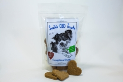 Buy Suzie's Treats, Tinctures & Salve - Suzie's 4mg Organic Pumpkin CBD Biscuits [click to enlarge]