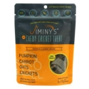 Jiminy's Original Cricket Cookie - Jiminy's Pumpkin & Carrot Recipe (6 Oz) Soft & Chewy, Training Treats