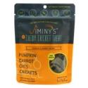 Jiminy's Original Cricket Cookie - Jiminy's Pumpkin & Carrot Recipe (6 Oz) Soft & Chewy, Training Treats