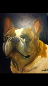 """Pre-sketched Canvases """"To Go"""" - 'Paint Your Pet' Pre-Sketched Canvas [click to enlarge]"""
