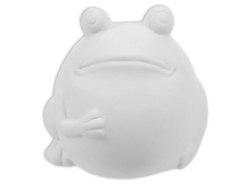 "Individual Ceramics ""To Go"" - Fat Frog [click to enlarge]"