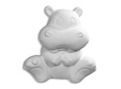 "Individual Ceramics ""To Go"" - Huggable Hippo"