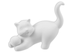 "Individual Ceramics ""To Go"" - Playful Cat [click to enlarge]"