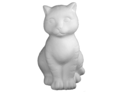 "Individual Ceramics ""To Go"" - Tabby Cat [click to enlarge]"